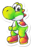 Yoshi Drawing by Foxeaf