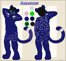 Chaeacter Ref For Aulioxef1 by Shadowfoxnjp