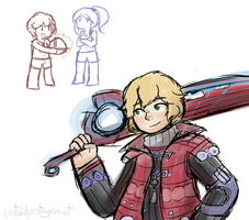 Now it's Shulk time! by PurpleTurban63