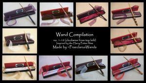 Handmade Wands no. 1-10 by dark--typhoon