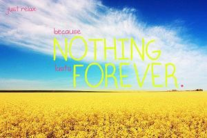 Nothing Is Forever by Monroe-West