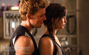 Katniss and Finnick! by OrigenTheLoner