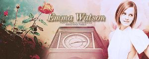 Emma Watson Banner practice by MarySeverus