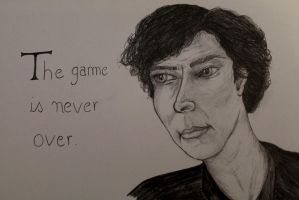The game is never over by Maudpx