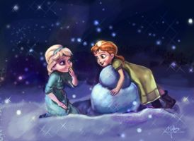 Do You Want To Build A Snowman? by must-luv