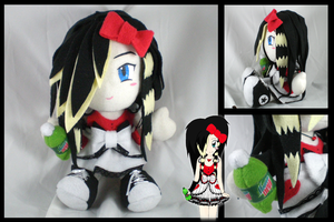 Custom plushie from sketch by eitanya