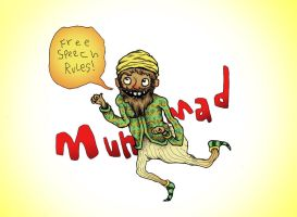 Muhammad by Papposilenos
