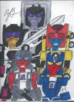 The Stunticons by GoroKai