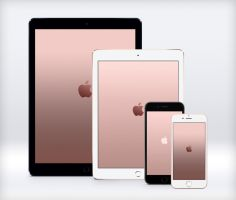 Apple Rose Gold Wallpapers by JasonZigrino