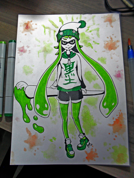 Inkling Girl by RonyeryX
