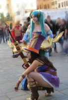 Caitlyn e Sona - Studying the strategy by Herwyn