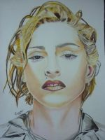 Painting - Madonna by Romeoartist