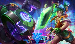 Arcade Riven Vs. Final Boss BlitzCrank by alvinlee