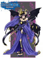 Shadow Lords_Lilithmon by EmeraldSora