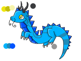 Dragon hatched adoptable 1 --CLOSED-- by Alenda-Adoptions