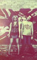 Sid and Nancy by mLooni