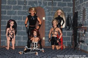Tears of Desire: Cast of the Dungeon by alleghany71