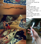 How to make a Shadowhunter Stele version 1 by Marybellla