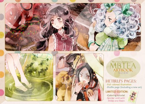 .MBTEA artbook preview SUMMER DAY. by Hetiru