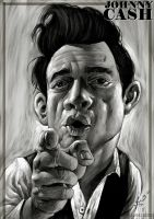 Johnny Cash by demitrybelmont