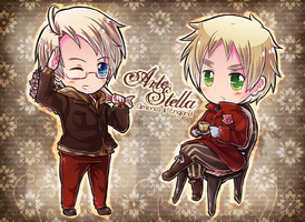 Arte Stella USUK by say0ran