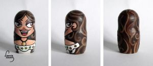 Maria Nesting Doll by LeonieIsaacs
