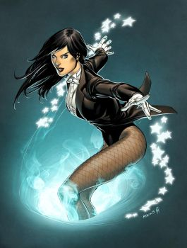 Zatanna colors by RobertAtkins