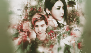 Kris and Bom wallpaper by devilMisao