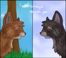 I`ll always be with you... by Saphirfluegel97