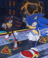 :.SA2 battle:. by missyuna
