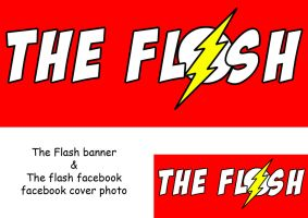 Flash banner and facebook timeline cover photo by Nick004