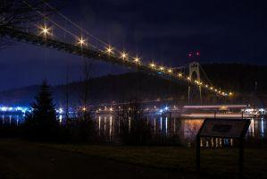 St John's Bridge from Cathedral Park by ringmale