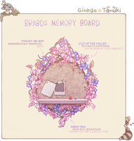 MAGE: Brabds Memory Board by creamboys