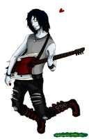 just an old fan art concept idea for marshall lee by ihaslemons
