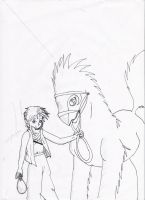 Boy and Pet by Lulabys-Melody