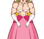 Princess Peach Abs Flexing (Animation) by A-Sea-Lion