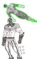 G:General Glory+Green Lantern by N-I-V-E-K