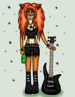 Rock Chick (contest entry) by Donna-Rayna