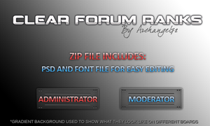 Clear Forum Ranks by bry5012