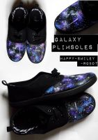Galaxy shoes by happy-smiley-robot