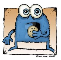 Cookie Monster by stuartmcghee