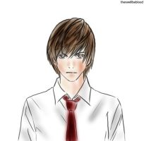 raito yagami by therewillbeblood