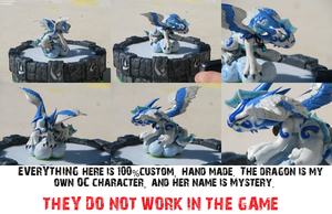 Mystery The Dragon::100% Custom Skylander by Daringashia