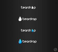 Teardrop logotype by evolutiongraphic