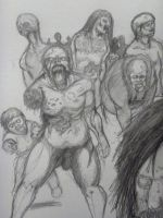 Zombie Horde -UF- by AloneBoy