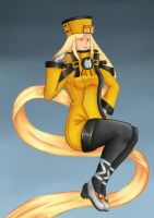 Millia Rage - The Lily of Steel by AnikiJOHN