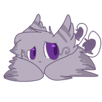 Cheap Winged Kitty Blob Adopt by dragonsweater