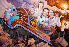 """Flying While Intoxicated"" by davidmacdowell"