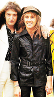 Deaky and Roger in Japan by maysqueen