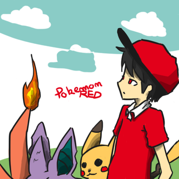 pokemonRED by the-inane